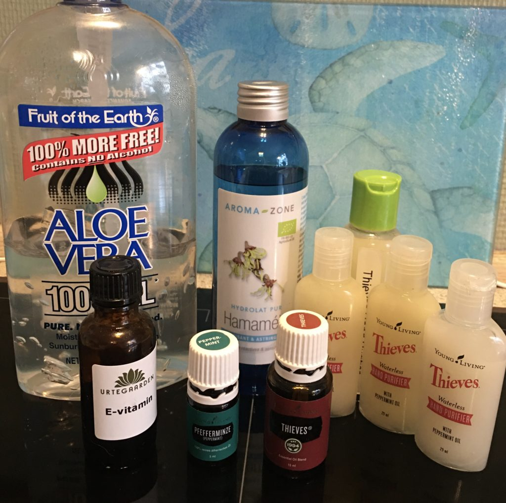 Diy Thieves Waterless Hand Sanitizer Purifier Toxin Free